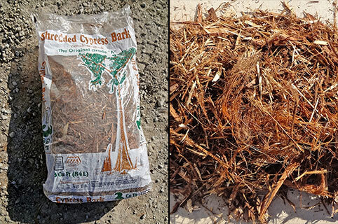 Turf, New Orleans, Fargo Bark Mulch